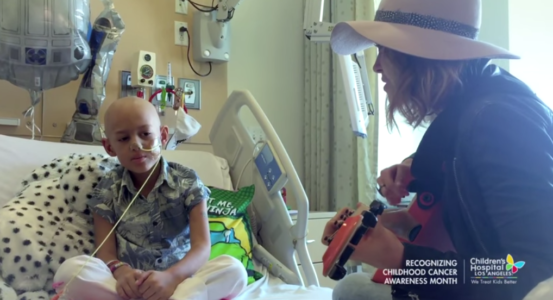 Cancer Patient Sings