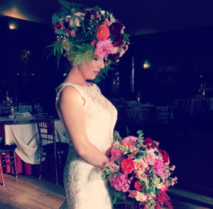 Cancer Patient Creates 'Living Art' for Her Wedding Day