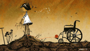 Artist Creates Eye-Opening Illustrations About Her Rare Disease