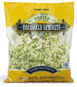 Why you should try shredded brussels sprouts